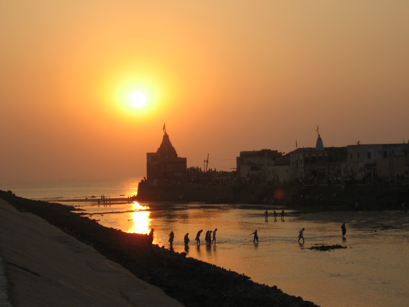 Dwarka sunset